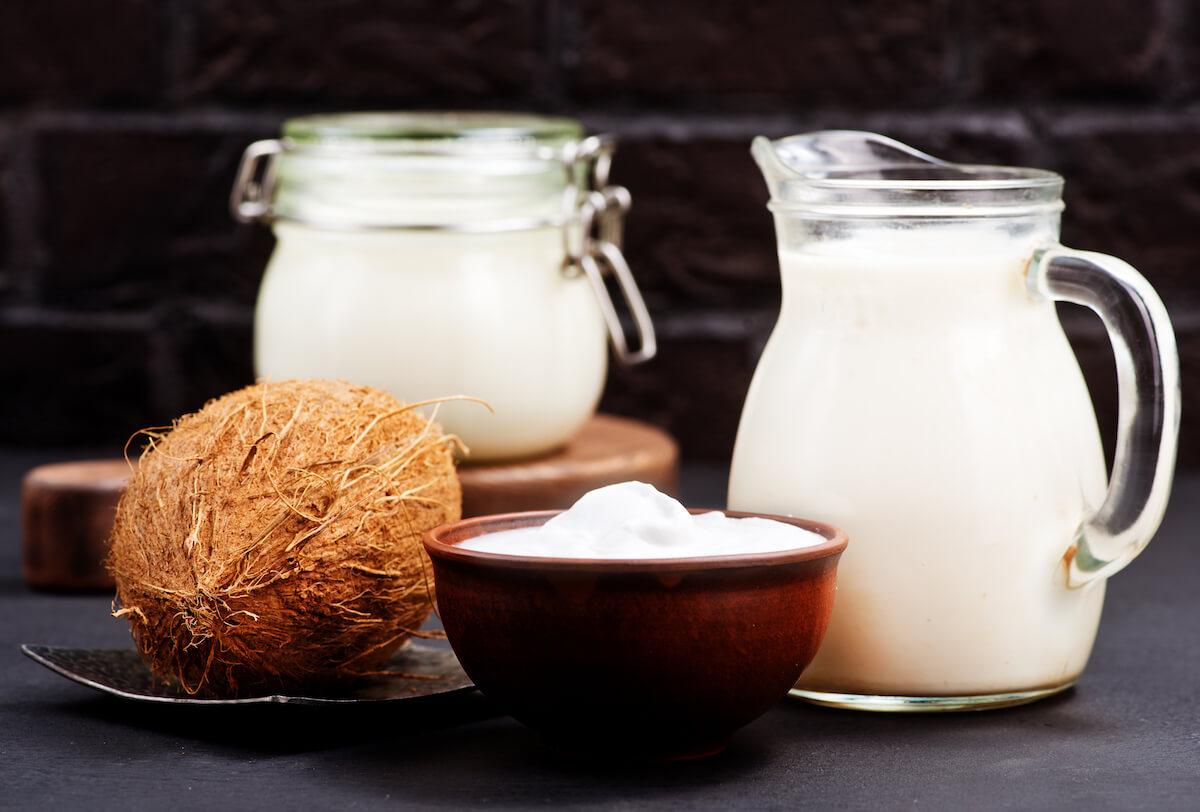 코코넛 우유