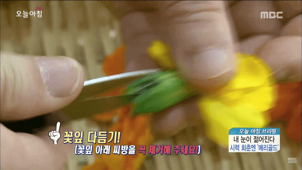 꽃 꽃차 만들기