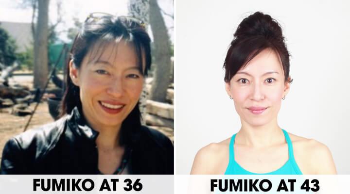 타카츠 후미코의 페이스 요가